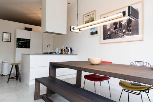 Interior Projects: industriële Keuken door Blom & Blom