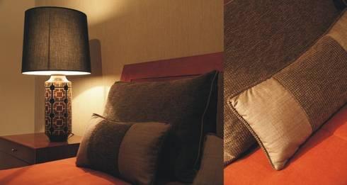 Suite principal: Quartos modernos por Traço Magenta - Design de Interiores