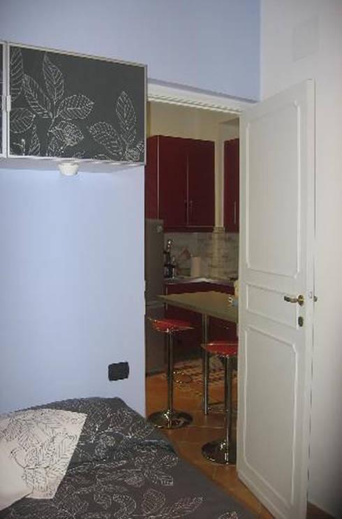 Ristrutturazione appartamento roma di quarzo architetti for Ristrutturazione appartamento roma