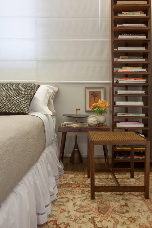 Nara Cunha Arquitetura e Interiores의  침실