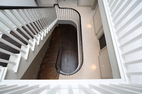 Stairs: modern Corridor, hallway & stairs by Zodiac Design