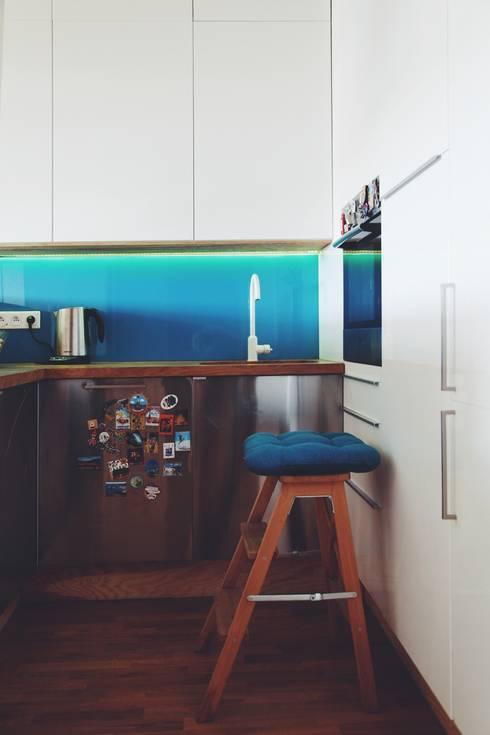 ofdesign Oskar Firek Plywood Warsaw kuchnia: styl , w kategorii Kuchnia zaprojektowany przez OFD architects