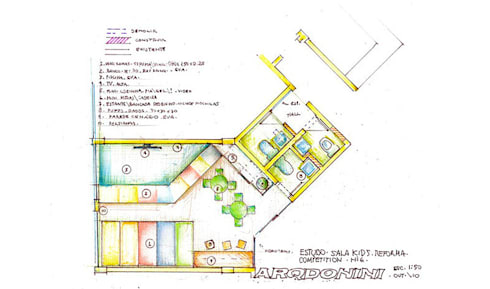 Academia Competition - unidade Higienópolis   Rua Dr. Albuquerque Lins:   por ARQdonini Arquitetos Associados