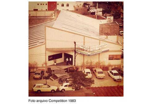 Academia Competition – unidade Higienópolis   Rua Dr. Albuquerque Lins:   por ARQdonini Arquitetos Associados