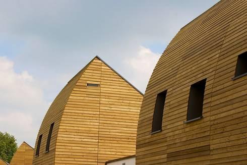 detail dak:   door ARX architecten