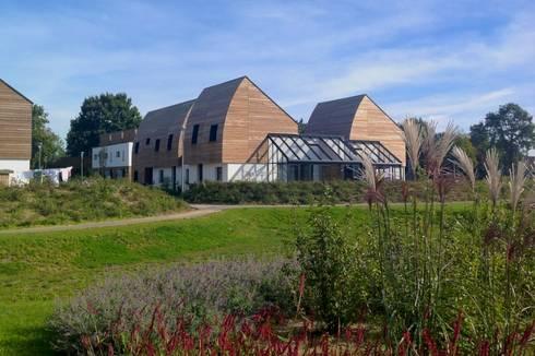 aanzicht Bomenbuurt:   door ARX architecten