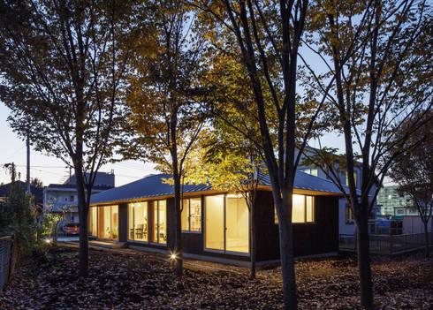 たっぷり採光できる窓: m・style 一級建築士事務所が手掛けた家です。