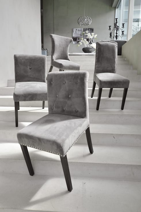 Dining chairs: moderne Woonkamer door Asiades