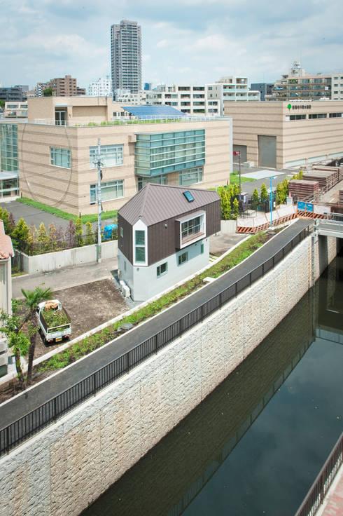 Дома в . Автор – 水石浩太建築設計室/ MIZUISHI Architect Atelier