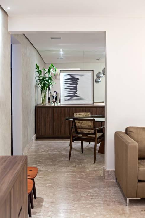 Apartamento MA: Salas de jantar modernas por BEP Arquitetos Associados