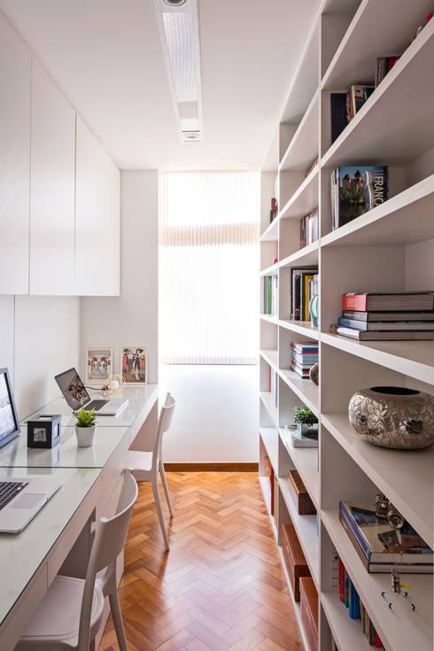Apartamento MA: Escritórios  por BEP Arquitetos Associados