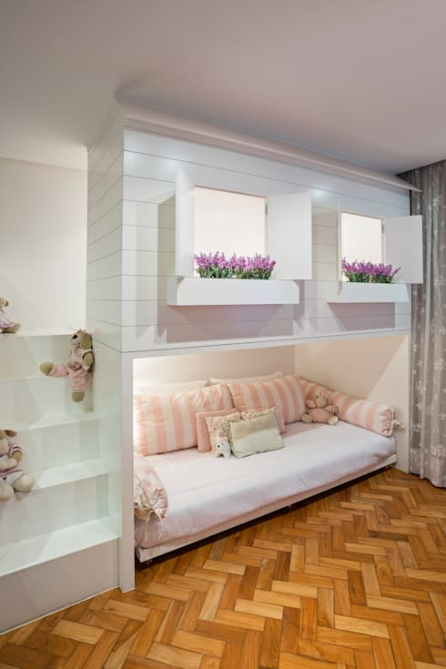 modern Nursery/kid's room by BEP Arquitetos Associados