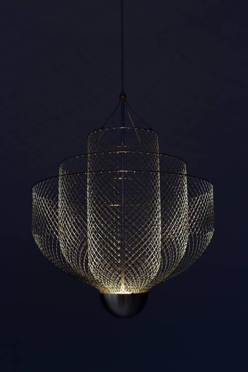 Meshmatics: industriële Woonkamer door Atelier Rick Tegelaar