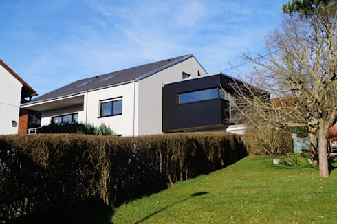 energetische sanierung mit anbau by busch lange architekten homify. Black Bedroom Furniture Sets. Home Design Ideas