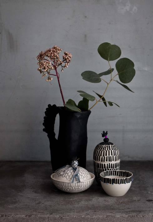 فن تشكيلي تنفيذ anna westerlund handmade ceramics