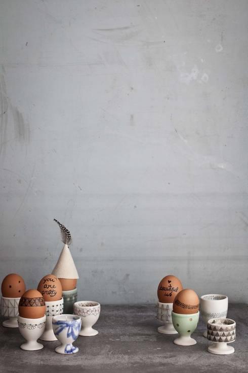 tailored details: Arte  por anna westerlund handmade ceramics