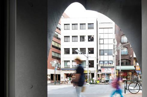 M-BUILDING: RCageが手掛けたオフィススペース&店です。