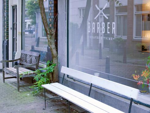 Barber : industriële Spa door Studio Aa