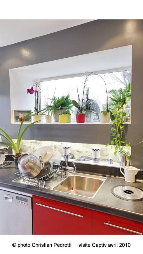Détail Cuisine: Cuisine de style de style Moderne par La Fabrique Architectes