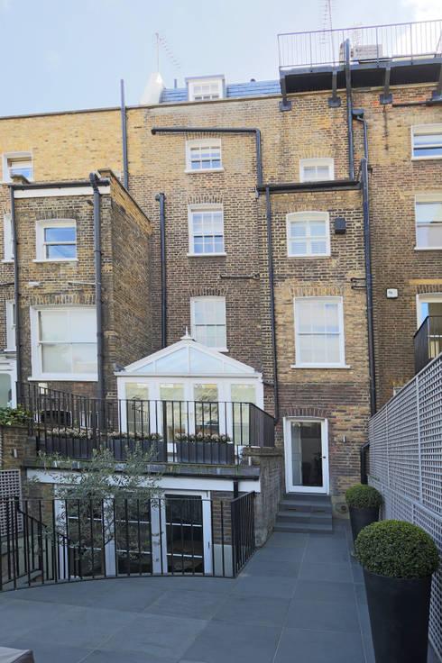 double mansard loft conversion chelsea:  Houses by nuspace