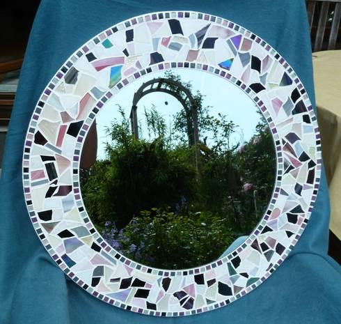 mosaikspiegel nach ma von mosaik spiegel traueme homify. Black Bedroom Furniture Sets. Home Design Ideas