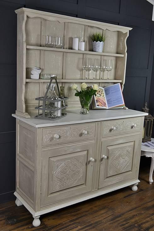 Shabby Chic Antique Oak Kitchen Dresser :  Kitchen by The Treasure Trove Shabby Chic & Vintage Furniture