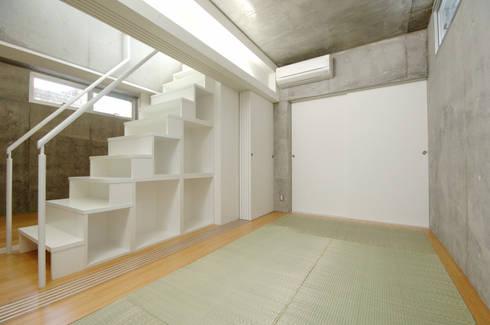 コトノハ舎: SOCIUS一級建築士事務所が手掛けた寝室です。