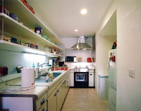 恵比寿の家: 株式会社エキップが手掛けたキッチンです。