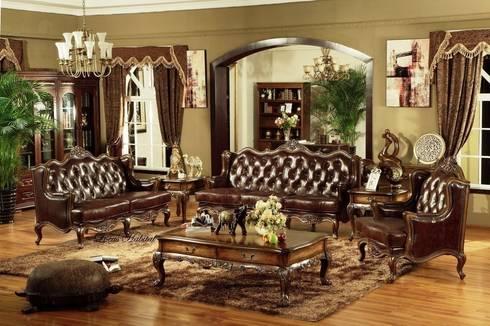 ffff: classic Living room by Locus Habitat
