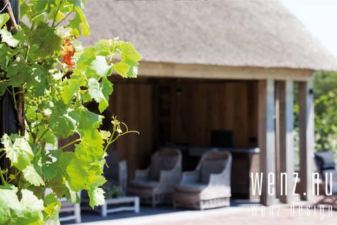 WENZdesign Poolhouse: landelijke Spa door WENZdesign