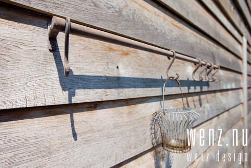 WENZdesign Poolhouse: rustieke & brocante Spa door WENZdesign