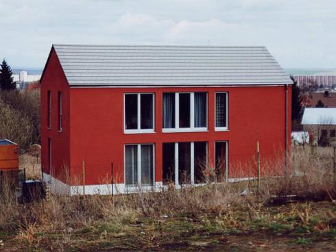 wohnhaus k erfurt de glasebach architekten homify. Black Bedroom Furniture Sets. Home Design Ideas