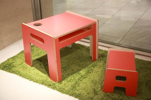 iroiro furniture: maak inc.が手掛けた子供部屋です。