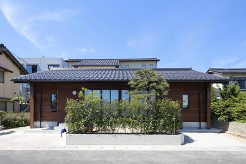 外観1: 白根博紀建築設計事務所が手掛けた家です。