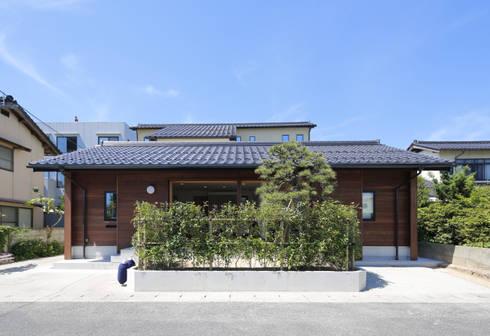 外観2: 白根博紀建築設計事務所が手掛けた家です。