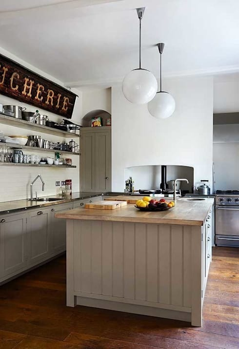 Chichester Town House: industrial Kitchen by Tim Jasper