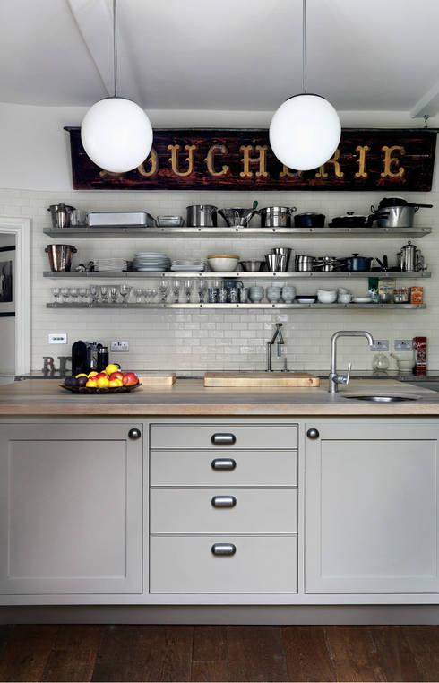 Chichester Town House: industrial Kitchen by Tim Jasper