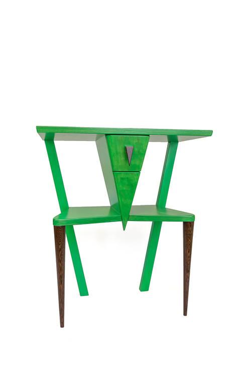 Stolik ,,Konik polny'': styl , w kategorii Salon zaprojektowany przez Meble Autorskie Jurkowski