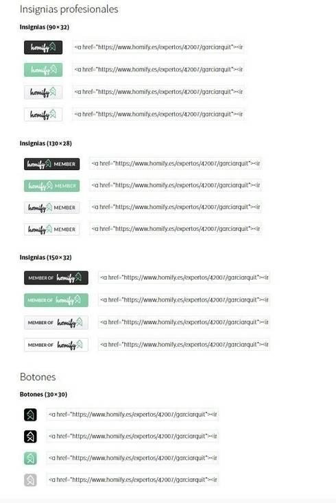 Cómo añadir badges y widgets:  de estilo  por ayuda homify