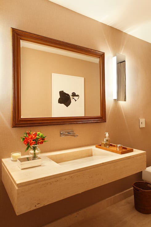 Projeto Rui Barbosa: Banheiros modernos por Adriana Valle e Patricia Carvalho