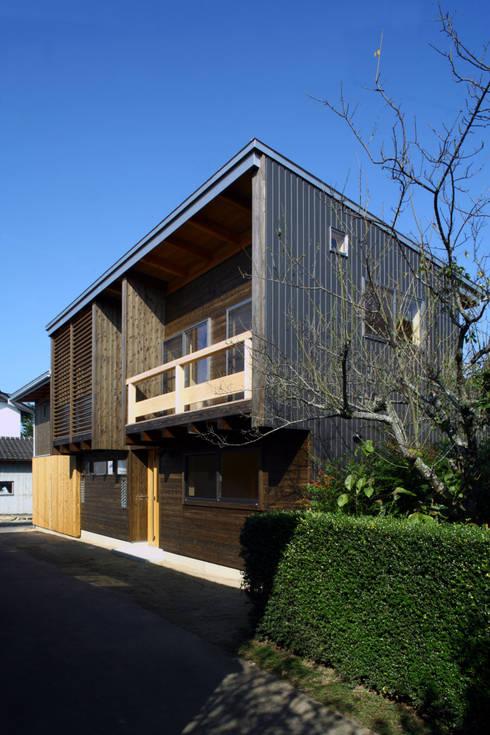 外観: 白根博紀建築設計事務所が手掛けた家です。