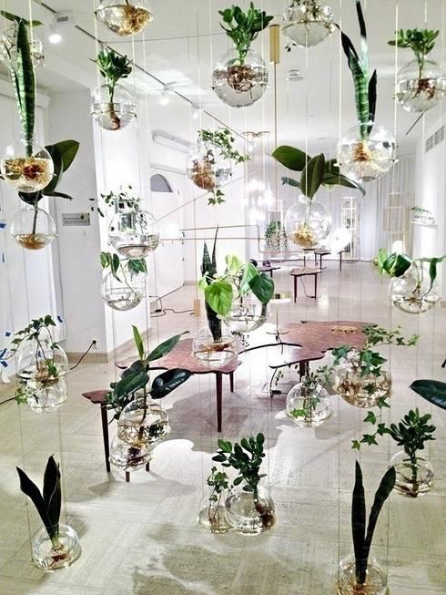 Salone della musica con bolle d'acqua: Soggiorno in stile  di Dotto Francesco consulting Green