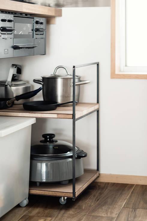 廚房 by coil松村一輝建設計事務所