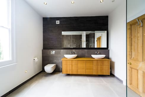 Bathroom colour scheme: modern Bathroom by Affleck Property Services