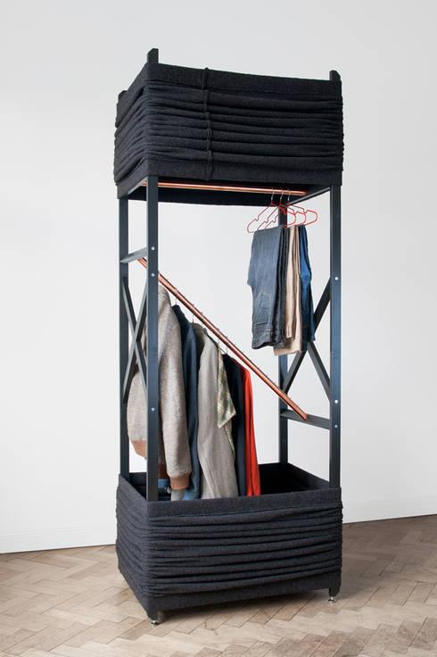 Projekty,  Garderoba zaprojektowane przez herrwolke
