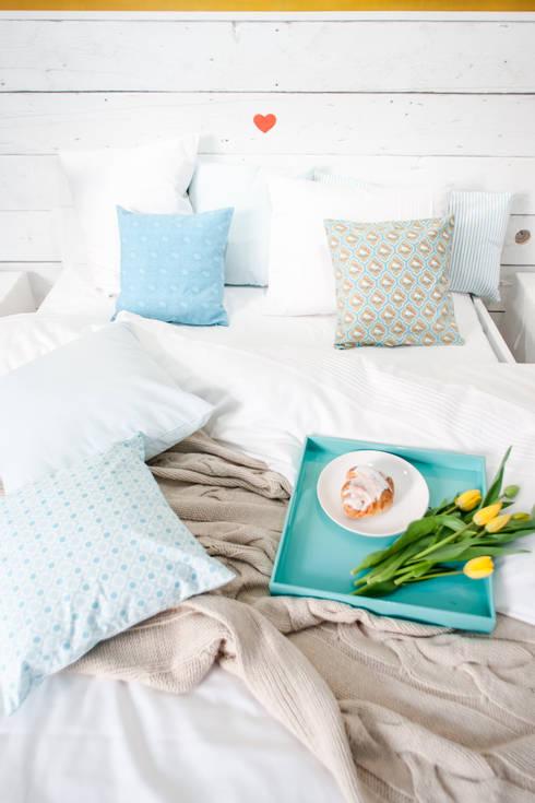Schlafzimmer von Lilla Sky