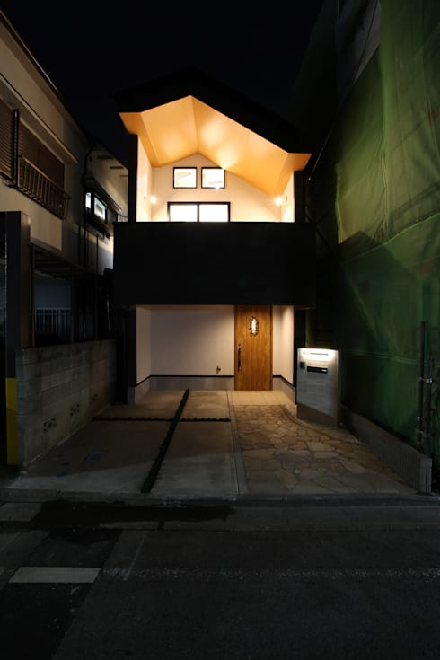 品川の住処: 株式会社ハウジングアーキテクト建築設計事務所が手掛けた家です。