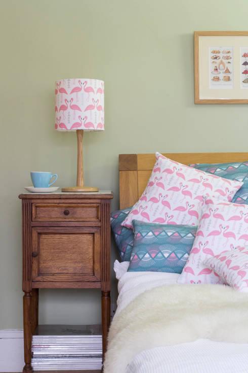 Rosa & Clara Designsが手掛けた寝室
