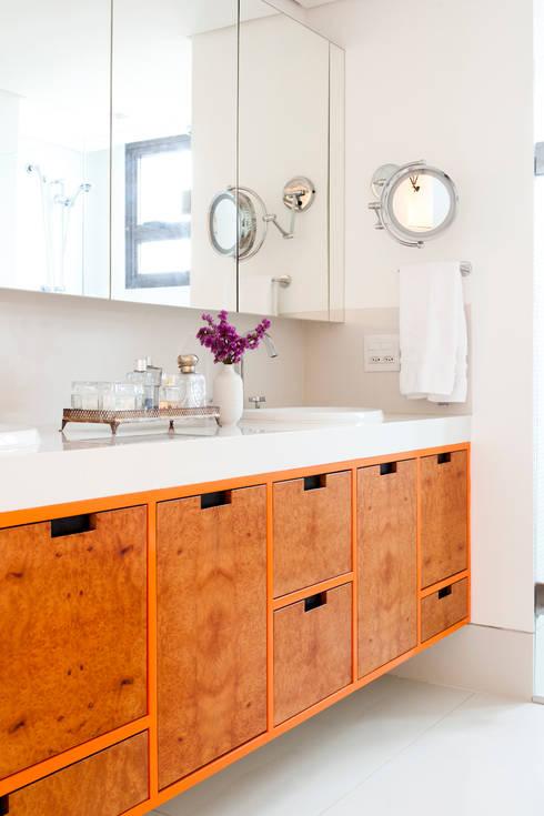 FA: Banheiros modernos por Flávia Gerab