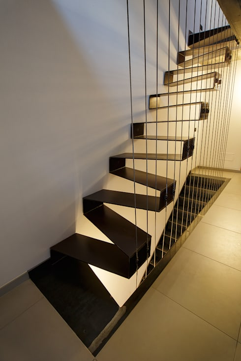 Projekty,  Korytarz, przedpokój zaprojektowane przez BEARprogetti - Architetto Enrico Bellotti